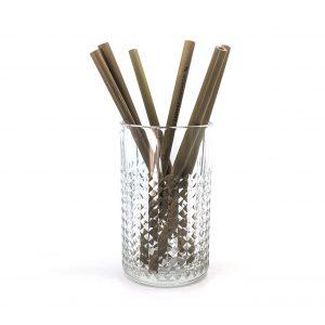 Bamboo Straws 6pcs