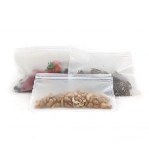 Silicone Ziplock storage bags