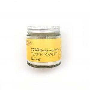 Organic Lemon Myrtle and Aloe Vera Toothpowder