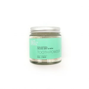 Organic Mint and Neem Toothpowder