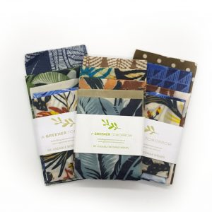 Beeswax Wraps 5pcs