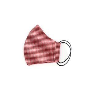 Kids Face Mask – Red check